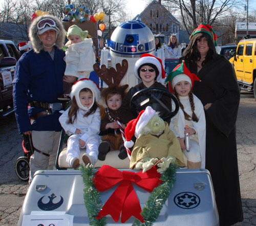 R2-D2 Laconia Holiday Parade